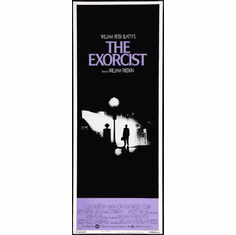 Exorcist The 14x36 Insert Movie Poster