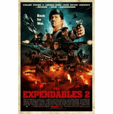 Expendables 2 Movie Poster 24inx36in
