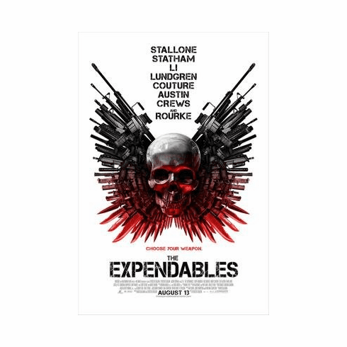 Expendables The Movie Poster 11x17 Mini Poster