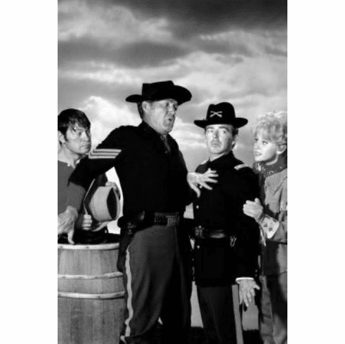 "F Troop Black and White Poster 24""x36"""