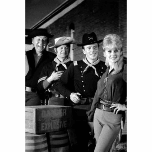 """F Troop Black and White Poster 24""""x36"""""""