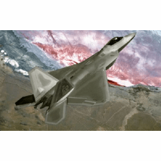 F22 Raptor Warplane 8x10 photo master print
