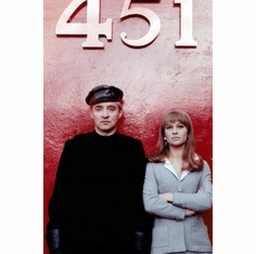 Fahrenheit 451 Movie 8x10 photo master print #01