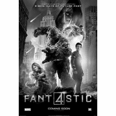 """Fantastic Four Black and White Poster 24""""x36"""""""