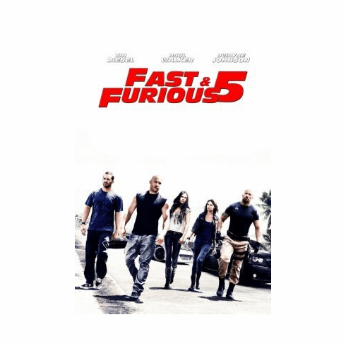 Fast Five Mini Poster 11x17