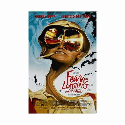 Fear And Loathing In Las Vegas Movie Poster 24in x36 in