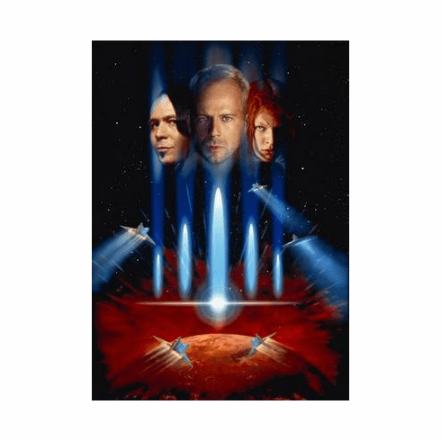 Fifth Element The Movie Poster No Text 24in x36 in