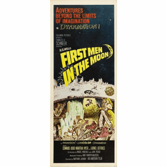 First Men In The Moon 14inx36in Insert Movie Poster