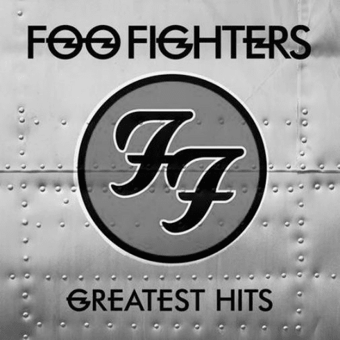"""Foo Fighters Black and White Poster 24""""x24"""""""