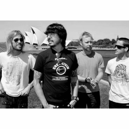 """Foo Fighters Black and White Poster 24""""x36"""""""