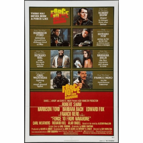 Force 10 From Navarone Movie Poster 24inx36in