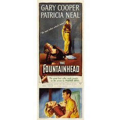 Fountainhead The 14inx36in Insert Movie Poster