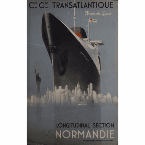 France Cruise Line Poster 24in x36in
