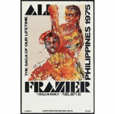 Frasier Vs. Ali 1975 Mini #01 8x10 photo master print