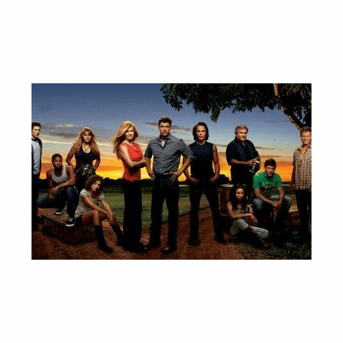 Friday Night Lights Poster Cast 24in x36 in