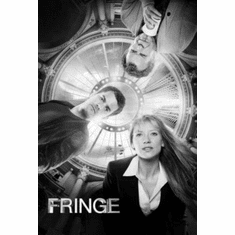 "Fringe Black and White Poster 24""x36"""