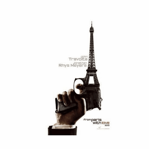 From Paris With Love Movie Poster 24in x36 in