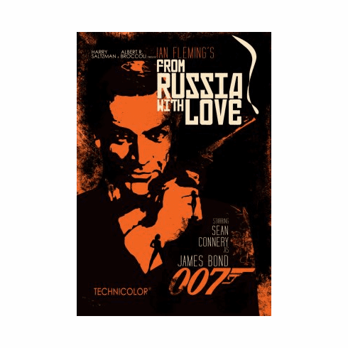 From Russia With Love Movie Poster 24x36