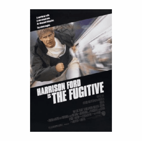 Fugitive The Movie Poster 24inx36in