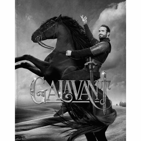 "Galavant Black and White Poster 24""x36"""