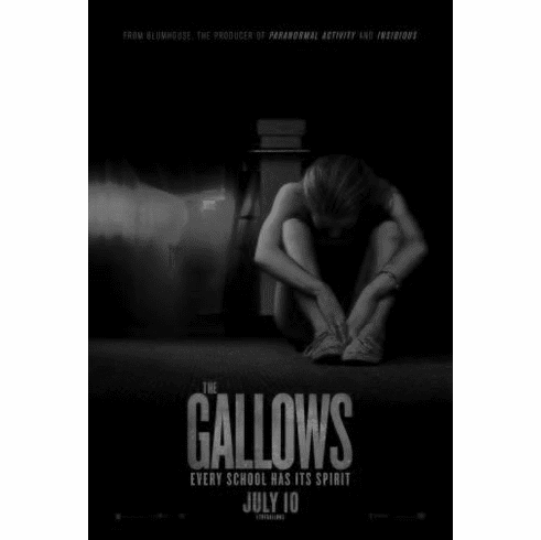"""Gallows The Black and White Poster 24""""x36"""""""