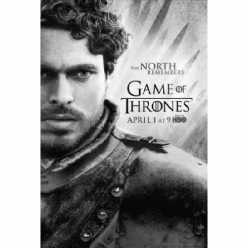 """Game Of Thrones Black and White Poster 24""""x36"""""""