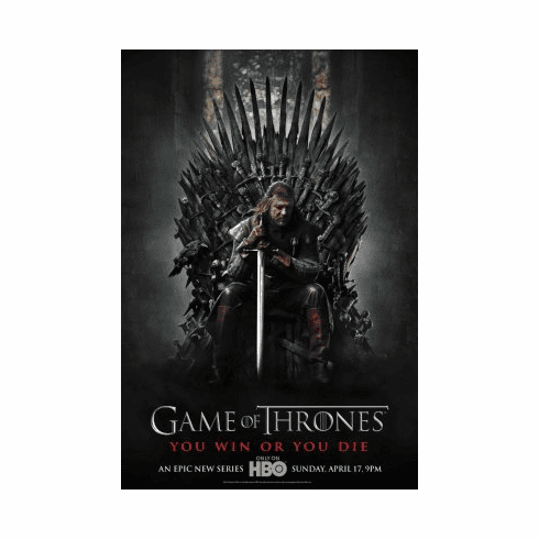 Game Of Thrones Movie Poster 24x36