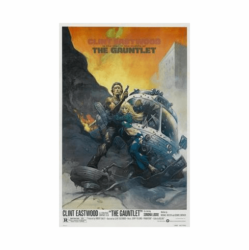 Gauntlet The Movie Poster 24in x36 in