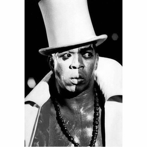 "Geoffrey Holder Black and White Poster 24""x36"""