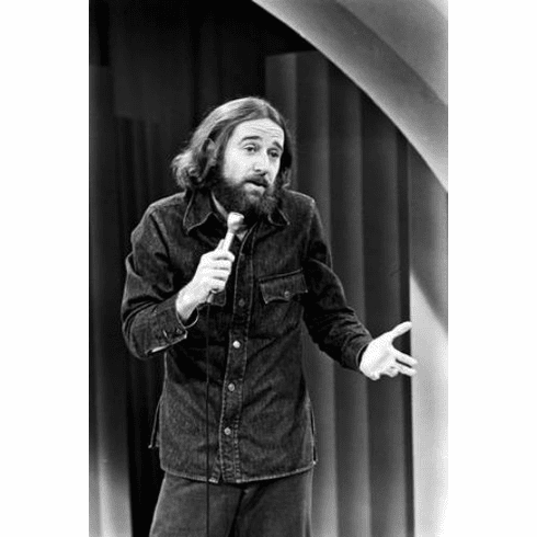 """George Carlin Black and White Poster 24""""x36"""""""