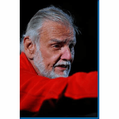 George Romero Red Shirt Poster 24inx36in