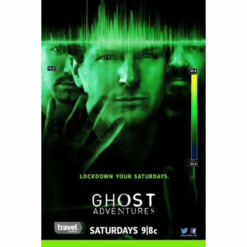 Ghost Adventures Poster 24in x36in