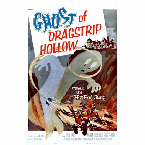 Ghost Of Dragstrip Hollow Movie Poster 24inx36in