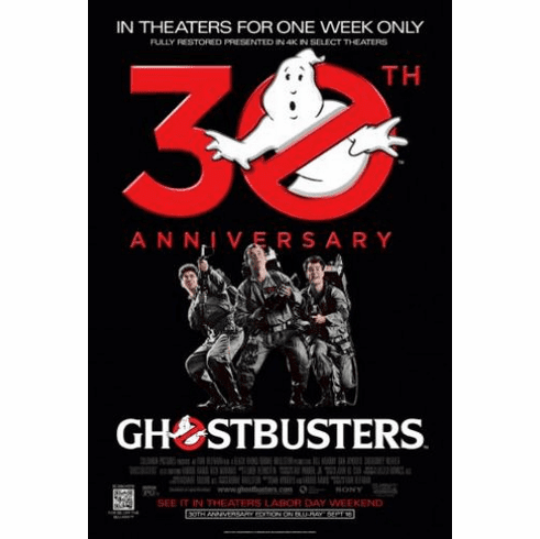 Ghostbusters 30Th Anniversary 11inx17in Mini Poster