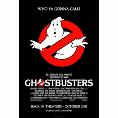 ghostbusters Mini Poster 11inx17in poster