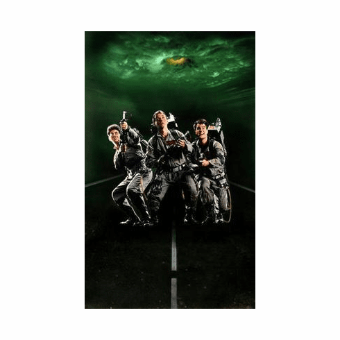 Ghostbusters Movie Poster No Text Art Only 24in x36 in