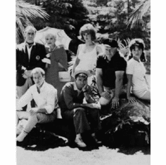 """Gilligans Island Black and White Poster 24""""x36"""""""