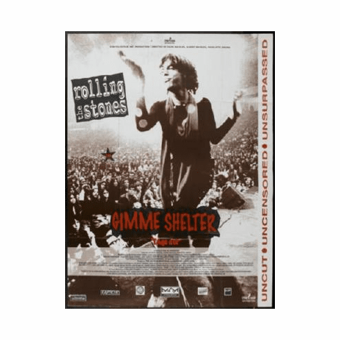 Gimme Shelter Poster 24inx36in