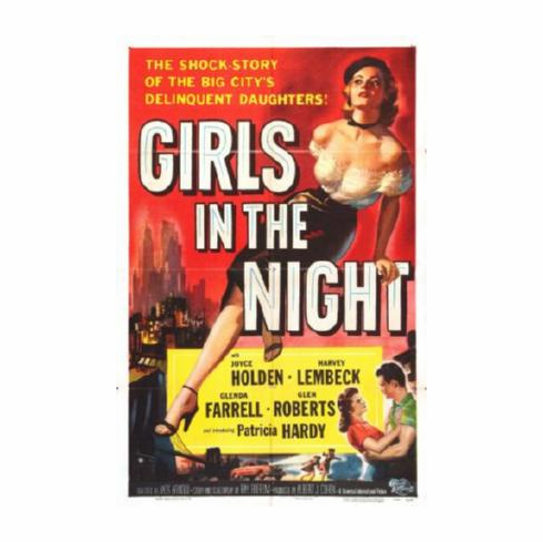 Girls In The Night Movie Poster 24inx36in
