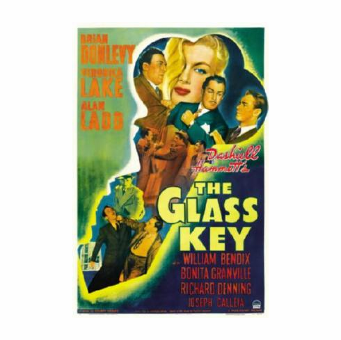 Glass Key The Movie Poster 24inx36in