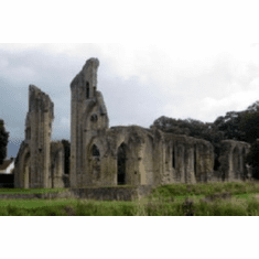 Glastonbury Abbey 8x10 photo Master Print #01