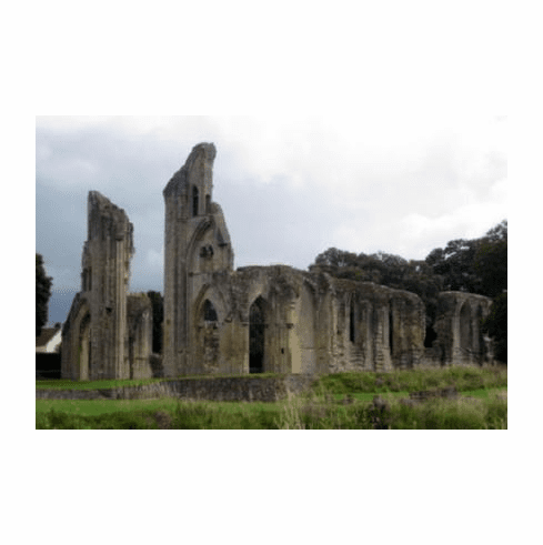 Glastonbury Abbey Poster 24inx36in