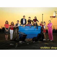 Glee Cast Poster Schoolyard 24inx36in