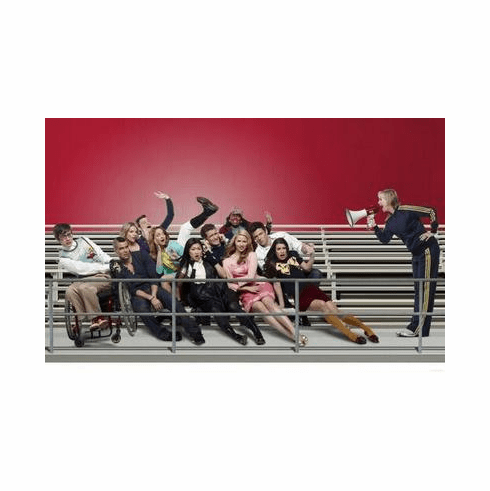 Glee Poster Bleachers 24in x36 in