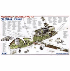 Global Hawk Cutaway 8x10 photo Master Print
