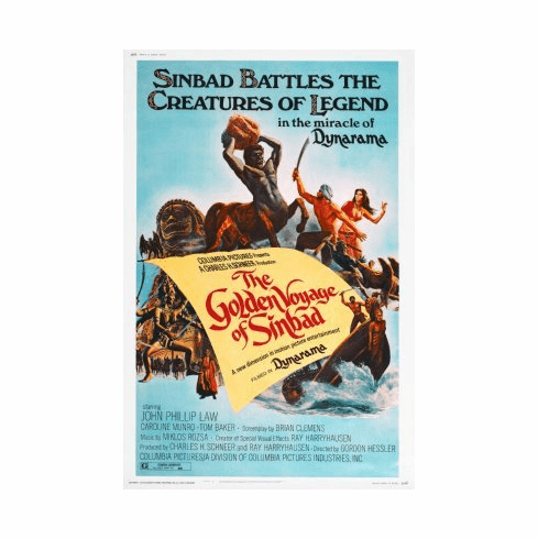 Golden Voyage Of Sinbad Mini Poster 11x17