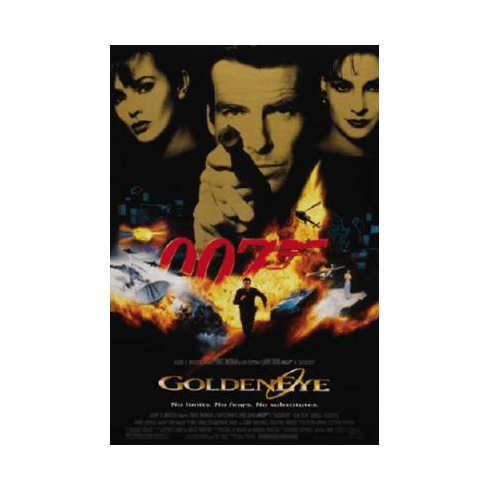 Goldeneye Poster 24inx36in