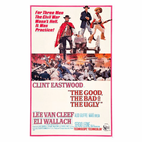 Good The Bad The Ugly Movie Poster 24inx36in