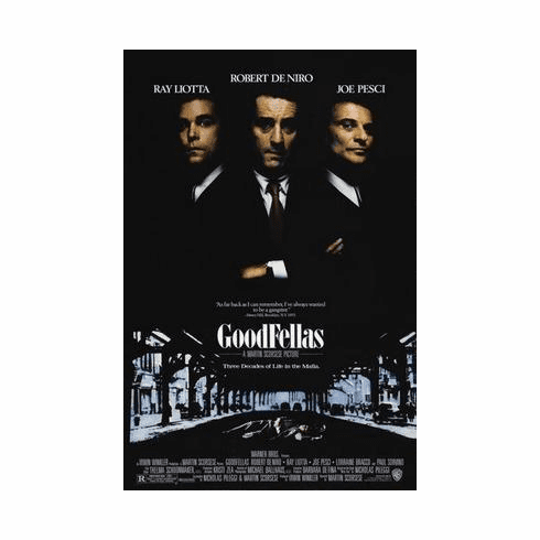 Goodfellas Movie Poster 24in x36 in