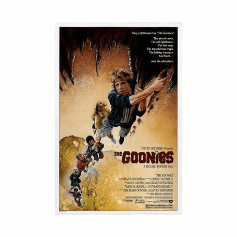 Goonies The Movie Poster 24in x36 in